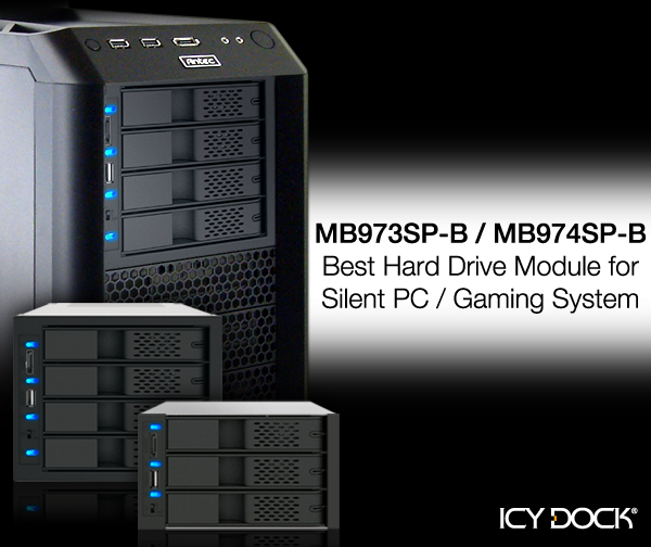 Best hard drive module for silent PC / gaming system