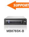 """MB876SK-B 3.5"""" SATA Aluminum Hard Drive Mobile Rack"""