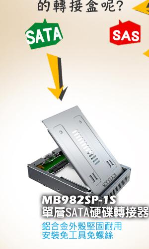 MB982SP-1S單純支援SATA硬碟!2011年7月全新上市!